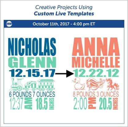 10.11.17 Creative Projects Using Custom Live Templates