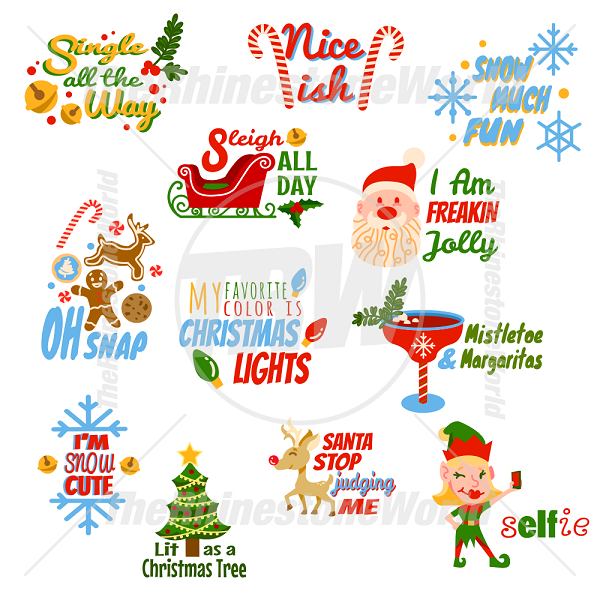 Christmas Live Template Mini Pack 4
