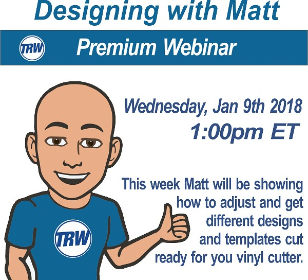 Designing with Matt - Jan 9th 2019
