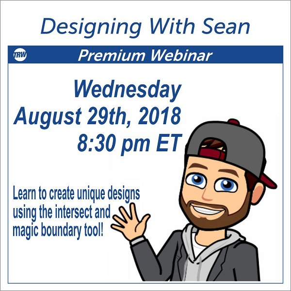 Designing with Sean - August 29th 2018