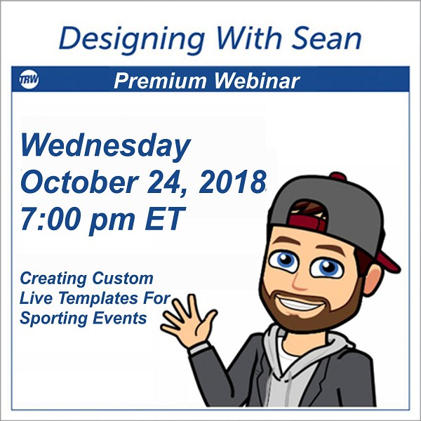 Designing with Sean - October 24, 2018