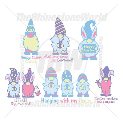 Happy Easter Gnomes Mini Pack