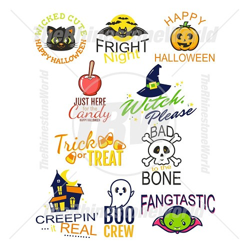 Halloween Live Template Mini Pack 4