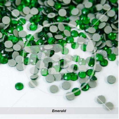 Hot-Fix Emerald SS6 Rhinestones 50-Gross
