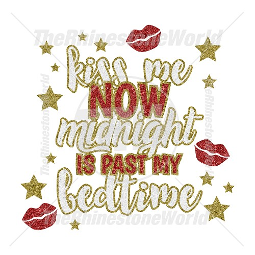 TRW Kiss Me Before Midnight Vector Design