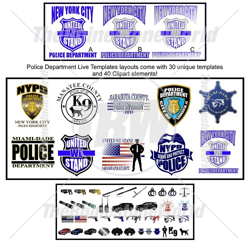 Police Live Templates Vol.1 - Download