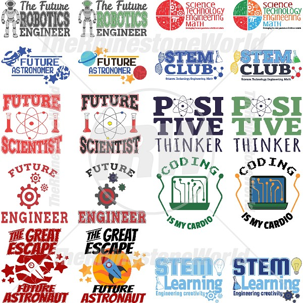 STEM Live Template Mini Pack