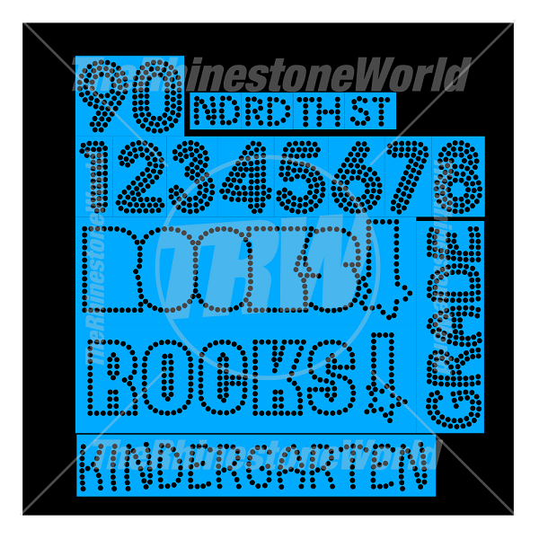 School Rocks! Rhinestone Design Pack - Download