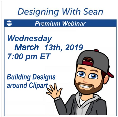 Designing with Sean - March 13th, 2019