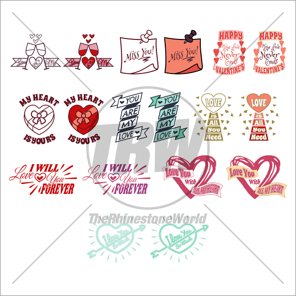Valentines Live Template Mini Pack 2