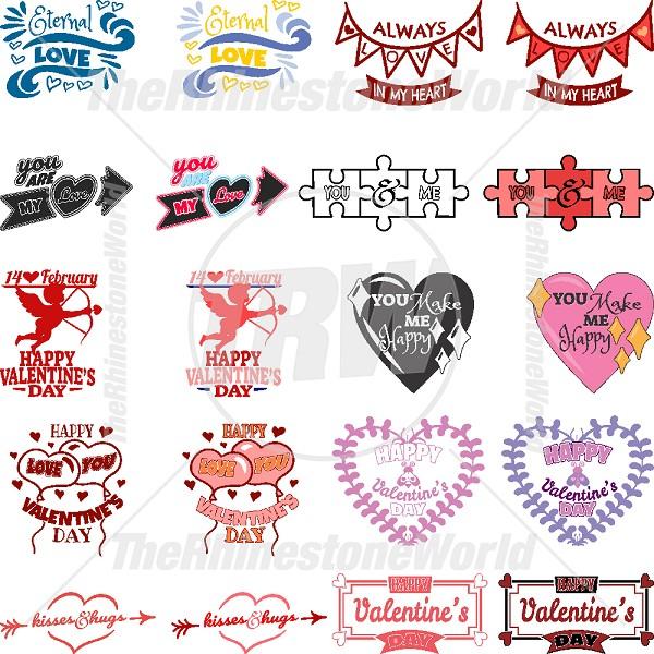 Valentines Live Template Mini Pack 3