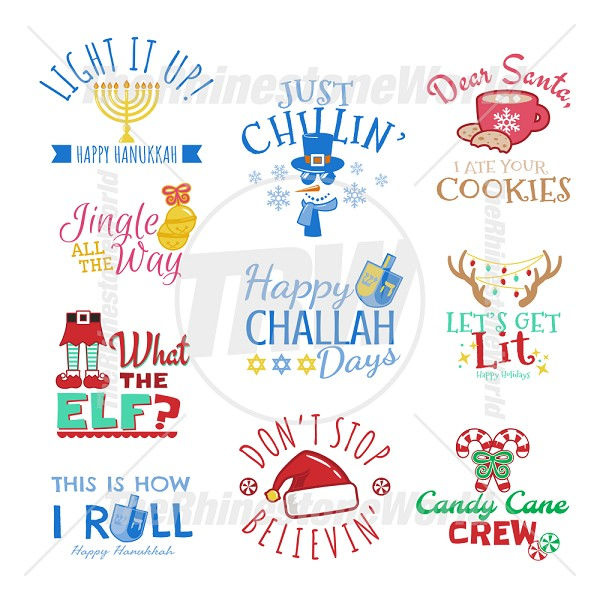 Cute Holiday Live Template Mini Pack 1
