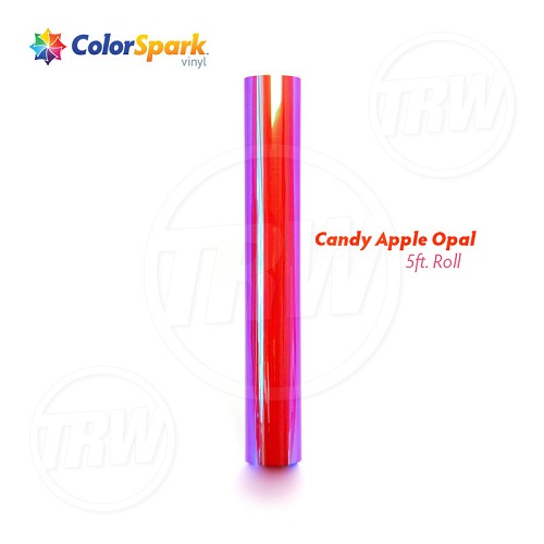 ColorSpark™ Opal Craft Vinyl - Candy Apple (5 Foot Roll)