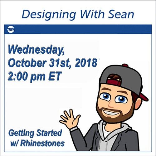 Designing with Sean - October 31, 2018