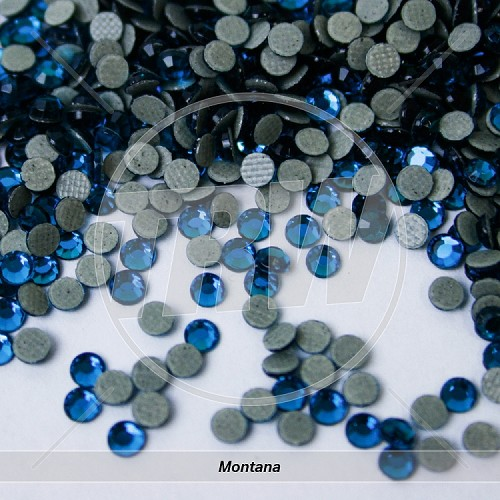 Hot-Fix Montana SS6 Rhinestones 1,000-Gross