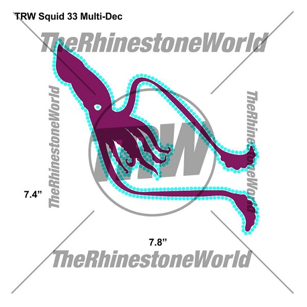 TRW Squid 33 Multi-Dec Design