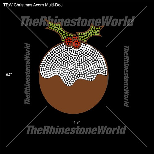 TRW Christmas Acorn Multi-Dec