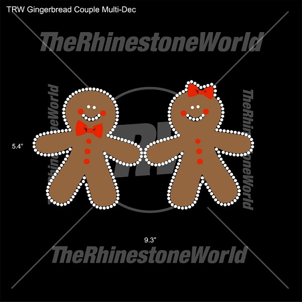TRW Gingerbread Couple Multi-Dec
