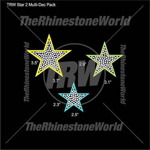 TRW Stars 2 Multi-Dec Pack