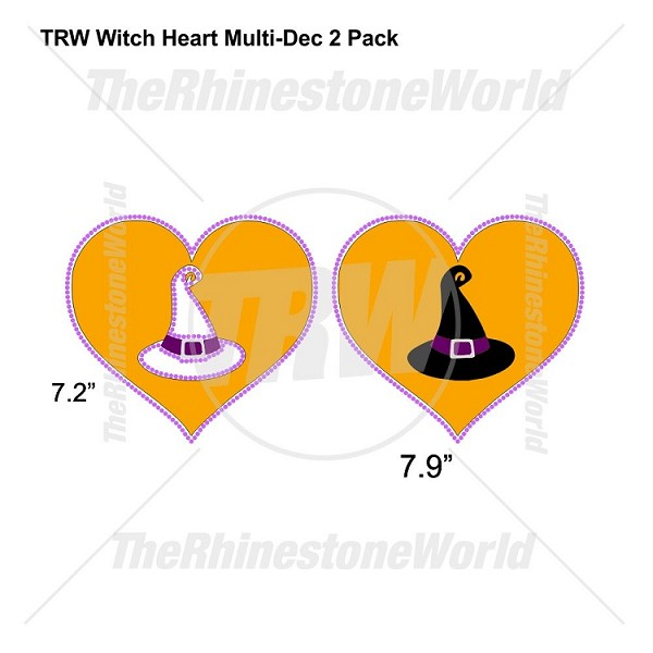 TRW Witch Heart Multi-Dec Design 2 Pack